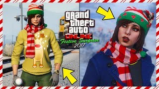 20 Things You Might Not Know About The SNOW In The GTA Online Festive Surprise 2017 DLC Update!