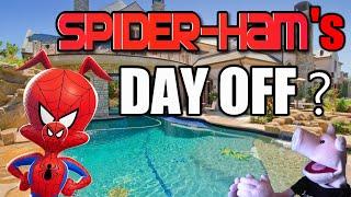 SPIDER-HAM'S DAY OFF?? - SPIDER-MAN: INTO THE SPIDER-VERSE Spin Vision Spider-Ham? | SamTheHamTV