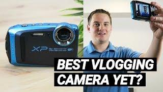 Fujifilm FinePix XP120 - Best Rugged Vlogging Camera Yet? (2018)