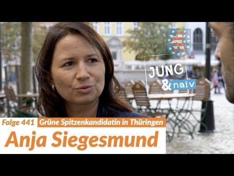 Umweltministerin Anja Siegesmund (Die Grünen) | Wahl in Thüringen - Jung & Naiv: Folge 441