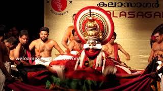 Kathakali Dakshayagam   Kala. Balasubrahmanian,Sadanam Krishnankutty, Kala. Ramachandran Unnithan