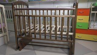 Как собрать детскую кроватку Алита 3(Сборка детской кроватки