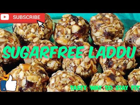 Sugar free dry fruits laddu l No sugar l मेवे के लड्डू l Anupma Srivastava l Healthy dates laddu l