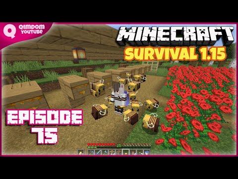 Berbudidaya Lebah | Minecraft Survival Indonesia Ep 75 !!!