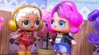 Куклы ЛОЛ Сюрприз Сериал МОЯ СЕМЬЯ 1 серия мультики для детей LOL Surprise Dolls