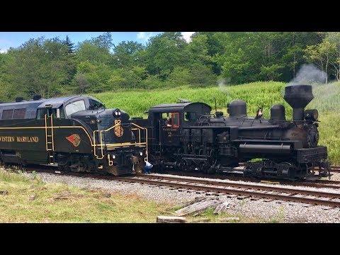 Steam Trains Galore!  Steam Trains In America!
