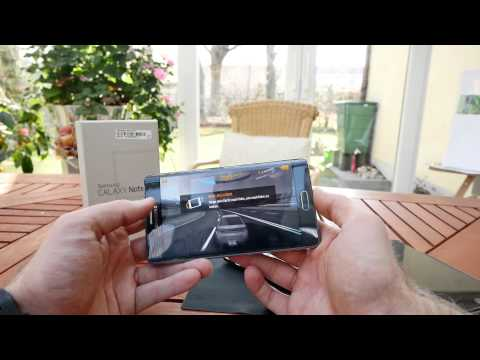 Samsung Galaxy Note Edge Test [4K Deutsch]