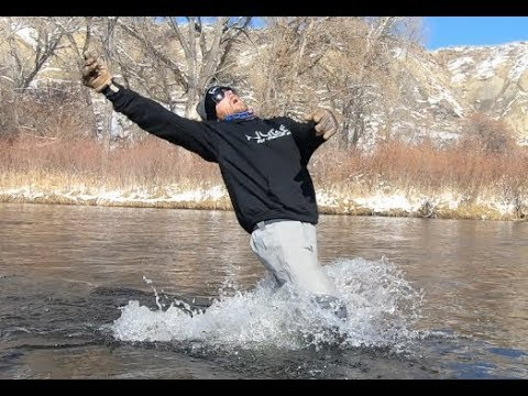 WADING SAFELY FLY FISHING