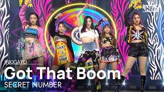 Download SECRET NUMBER(시크릿넘버) - Got That Boom @인기가요 inkigayo 20201108