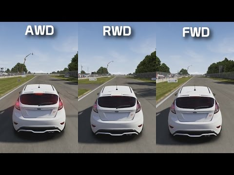 AWD vs RWD vs FWD || Track Test || Forza Science