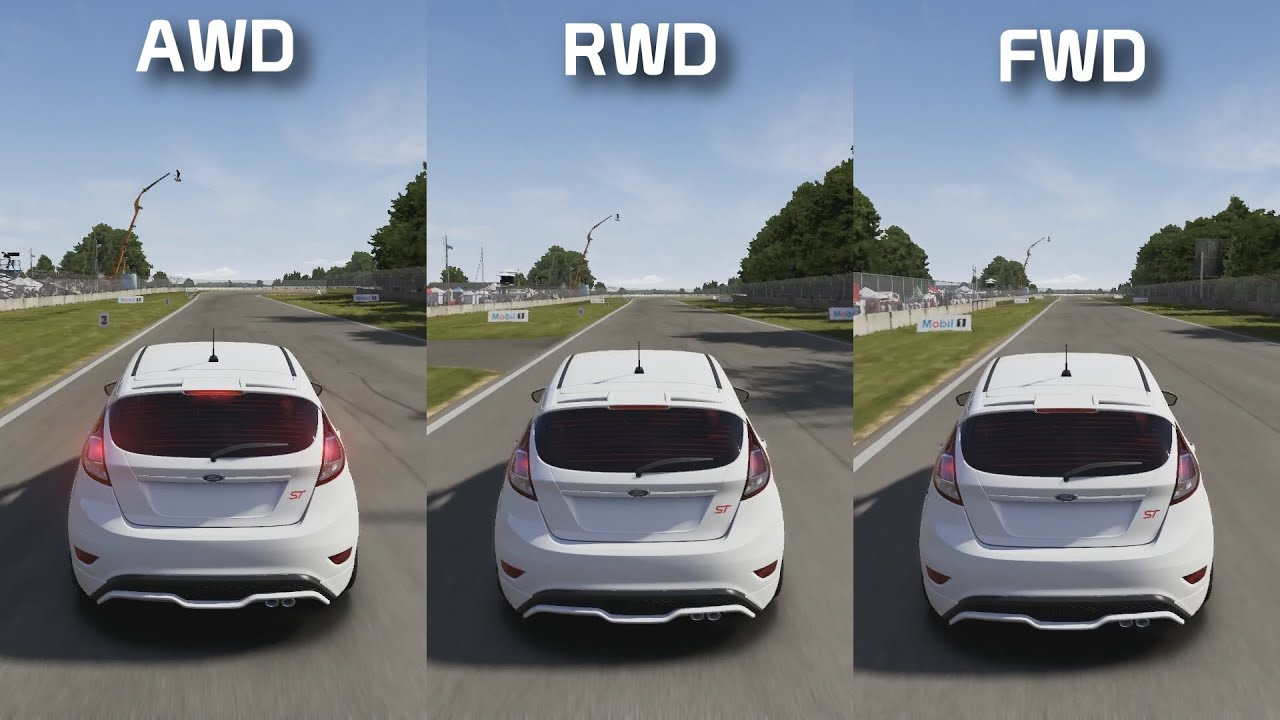 Front Wheel Drive Vs All Wheel Drive Cars
