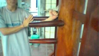 Wingchun 108 Wooden Dummy - Master Chau Phong