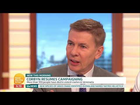 The Studio Discuss Jeremy Corbyn's Approach to Venezuela   Good Morning Britain