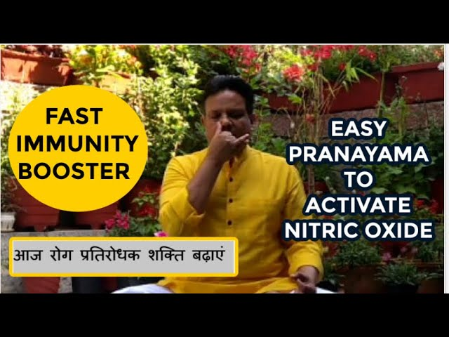 2 Pranayamas generate Nitric Oxide give MAX immunity boost for winter health