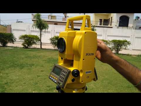 Part-1#Total Station Explanation With All Parts In Hindi