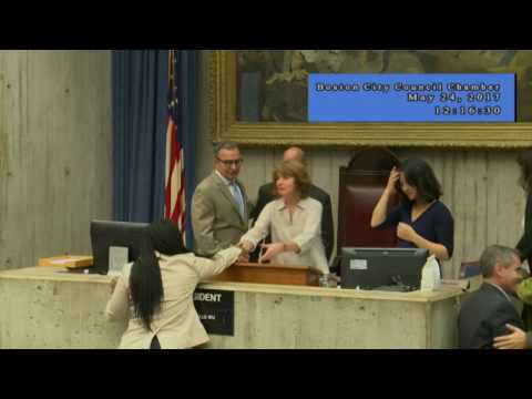 Boston City Council Meeting on May 24, 2017