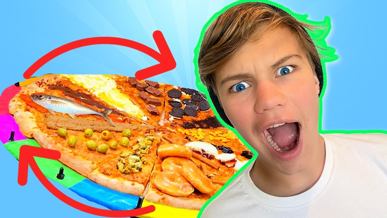 DISGUSTING Pizza ROULETTE Challenge!
