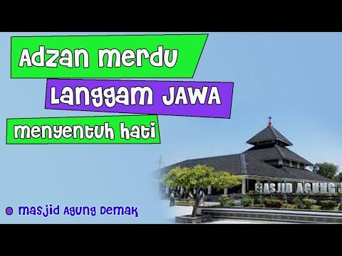 Adzan Langgam Jawa menyentuh hati
