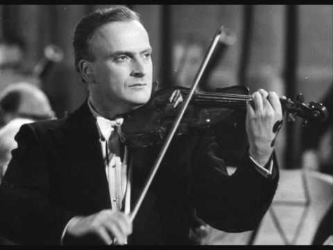 Menuhin Violin Concert Adelaide Mozart-Casadesus Part 1