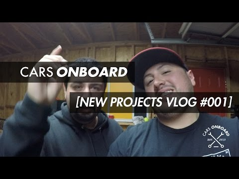 CARS ONBOARD [NEW PROJECTS] Vlog #001