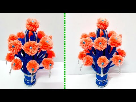 New Design Guldastaflower Vase From Plastic Bottle At Home Best