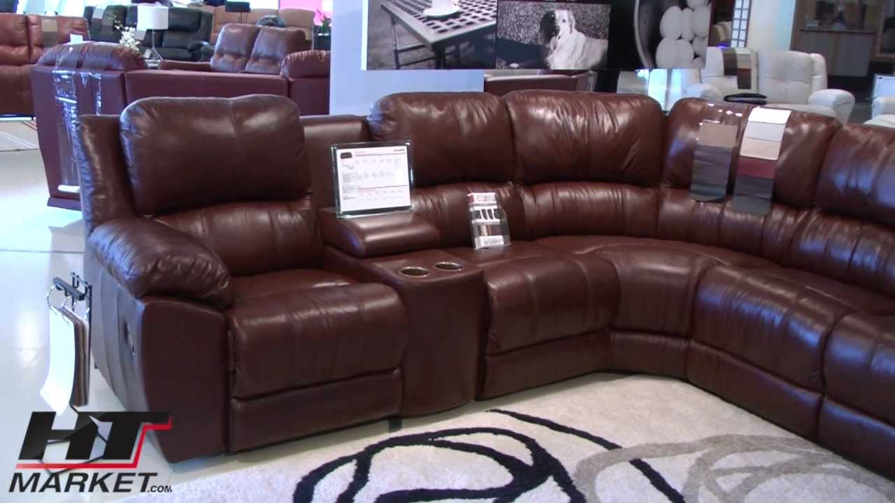 Home Theater Sectional and Sofa Palliser Benson at HTmarket.com - YouTube : home theatre sectional - Sectionals, Sofas & Couches