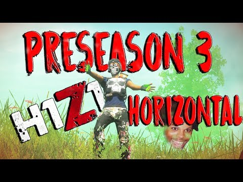 FULLY HORIZONTAL PRESEASON 3 RECOIL RETURNING!!! (H1Z1 Full Horizontal Recoil Update!!!)