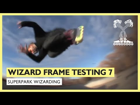 Wizard Frame Testing Part 7 - YouTube