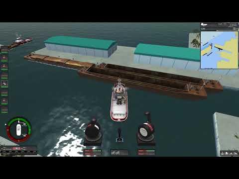 Ship Simulator Z-Drive Towboat