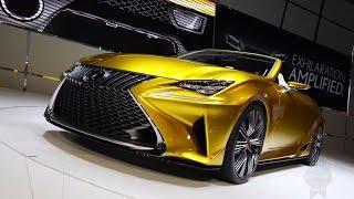 Lexus LF-C2 Concept 2014 Videos