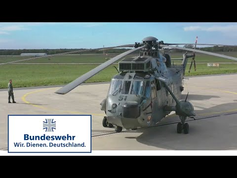Blick auf den Bundeswehr-Flugplatz in Nordholz