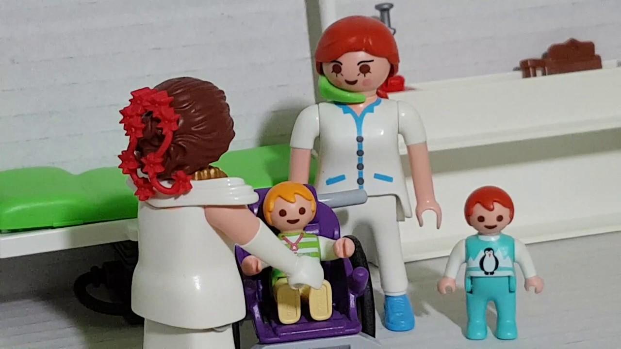 Playmobil Film Deutsch Kinder Müssen Zur Arzt Untersuchung