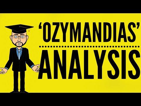 Percy Shelley's 'Ozymandias': Mr Bruff Analysis