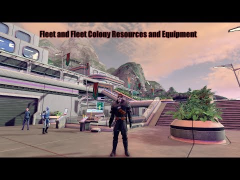 Star Trek Online - Fleet and Fleet Colony Equipment and Resources
