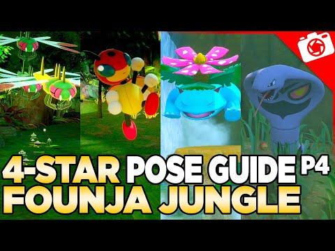 Founja Jungle 4-Star Pose & Request Guide   New Pokemon Snap