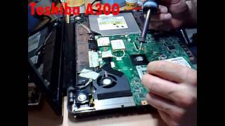 Toshiba Satellite A300 - 244 (Problema do Micro-condensador Sólido Nec Tokin OE907) Reparação