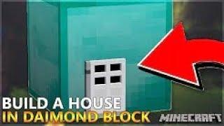 Minecraft- Live Inside A Diamond Block (No Mods)