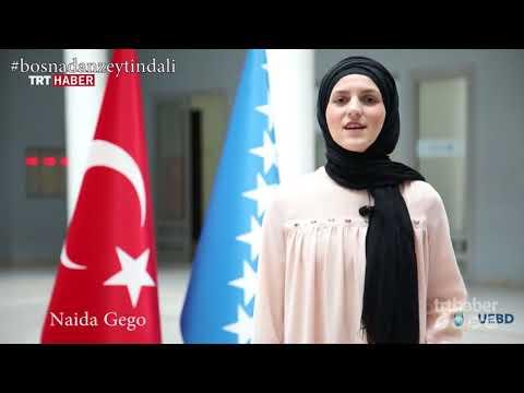 Bosna halkından Zeytin Dalı Harekatı'na destek videosu