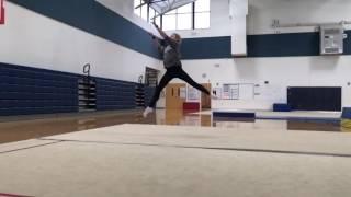 Прыжки в художественной гимнастике