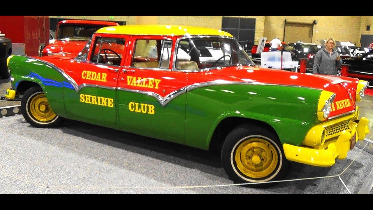 1955 Ford Fairlane Never Back Up 2016 World Of Wheels Birmingham
