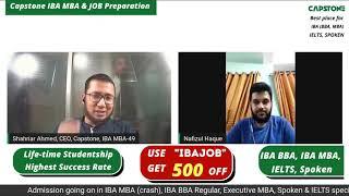Capstone IBA MBA & GOVT JOB Preparation