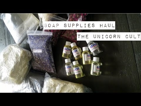 Soap Supplies Haul - Profanity & Shenanigans!