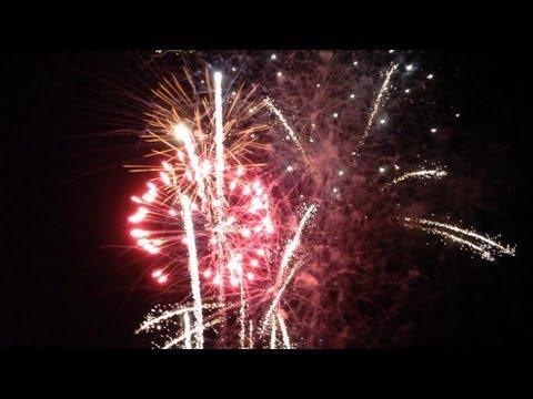 An Amazing 4th of July Fireworks Display in Blaine, Washington