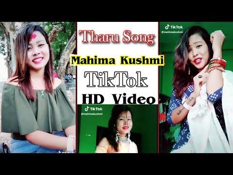 Mahima Kushmi ||Tharu TikTok Video
