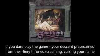 Symphony X - The Damnation Game (Lyrics)