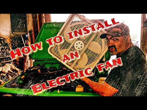 How to install an electric fan in your Suzuki Samurai