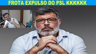 """""""URGENTE"""": Alexandre Frota expulso do PSL"""