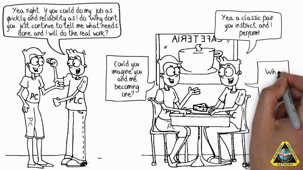 Automation Engineering Fun: PC vs PLC - YouTube