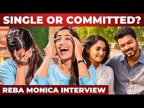 """Priyanka Reddy Case பார்த்து கதறி அழுதேன்"" - BIGIL Reba Monica John Emotional Interview | Part 1"