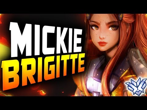 Dallas Fuel Mickie - PRO BRIGITTE GAMEPLAY! [ OVERWATCH SEASON 14 TOP 500 ] thumbnail